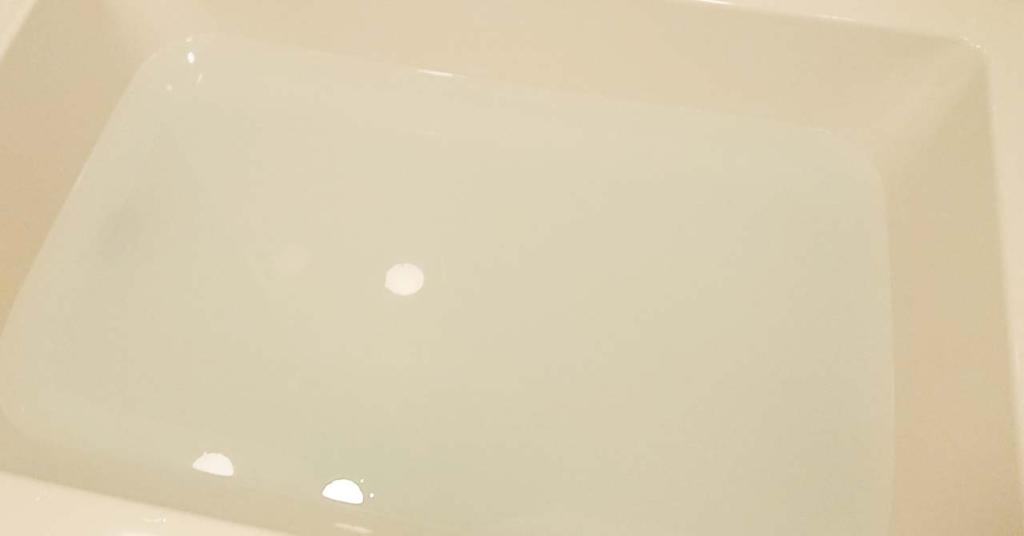 バブのミライ・ビューティーのネロリ&ゼラニウムの香り入浴剤の湯